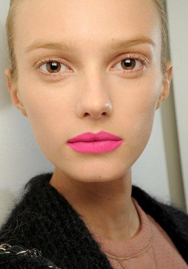 Jil sander pink lips